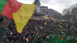 Cameroun : Manifestation populaire à Paris du plus grand opposant à Paul Biya
